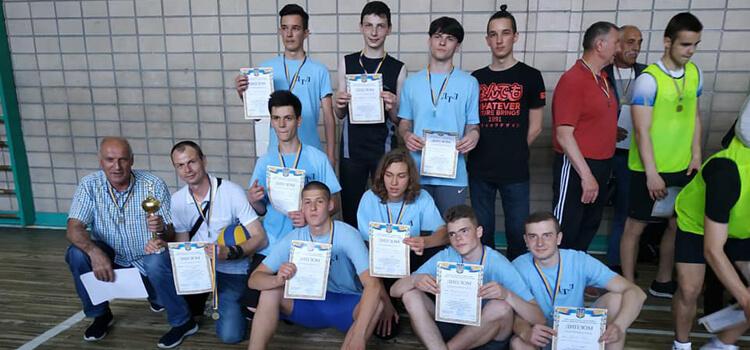Технічний ліцей – переможець Шкільної волейбольної ліги