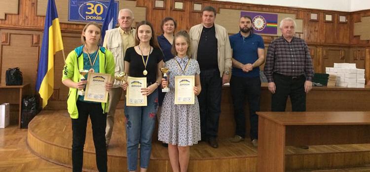 Вітаємо абсолютну чемпіонку міста Києва з шахів