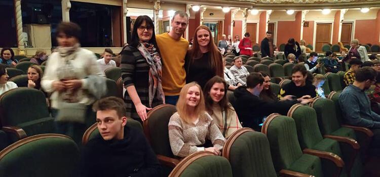 Відвідування театру Івана Франка учнями Технічного ліцею