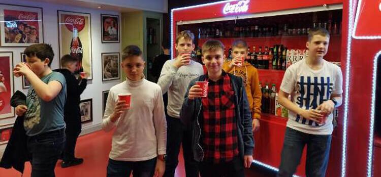 Екскурсія учнів Технічного ліцею на завод Coca-cola